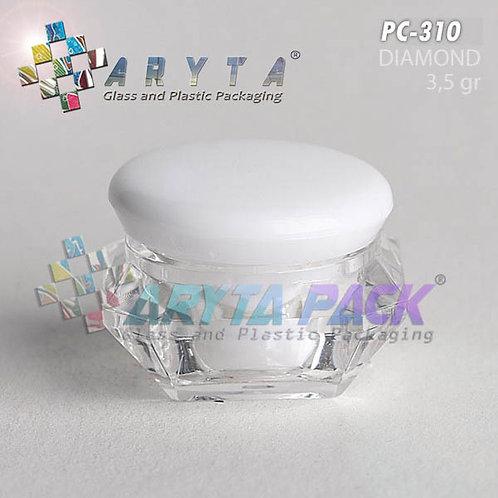 Pot cream 3,5 gram diamond