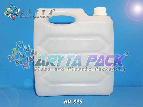 Jerigen plastik HDPE 5 liter wajik gepeng natural