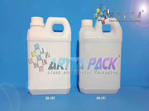 Jerigen plastik HDPE 1 liter taiwan putih susu