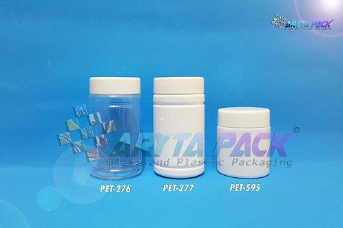Toples plastik PET 70ml proron putih susu