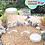 Thumbnail: TOPLES PLASTIK PET 1300ML 1,3LITER JAR CYLINDER TABUNG TUTUP ULIR