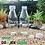 Thumbnail: Botol kaca bening 150ml second tutup putih plastik