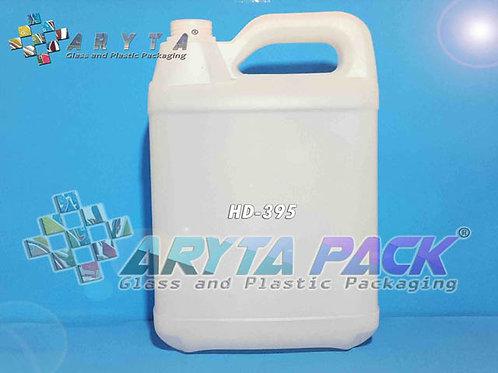 Jerigen plastik HDPE 5 liter bimoli natural