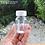 Thumbnail: Botol plastik PET 30 kapsul tablet bulat bening