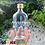 Thumbnail: BOTOL KACA BENING GEPENG 250ML NEW TUTUPKALENG GOLD