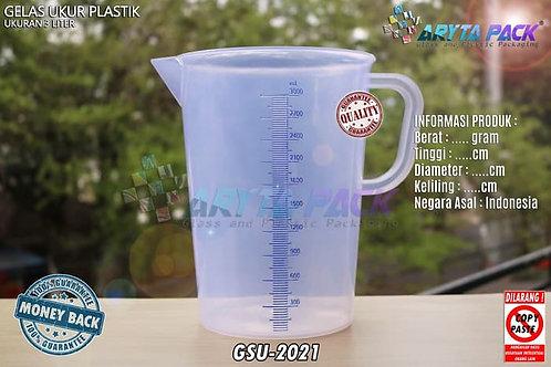 Gelas ukur plastik 3 Liter