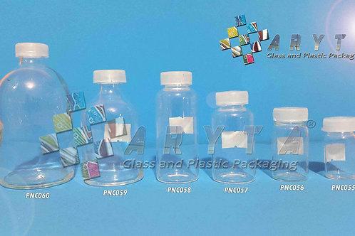 Botol kaca bening 10ml injeksi second tutup sumbat