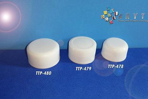 Tutup plastik putih rapat ukuran 22mm (SG)