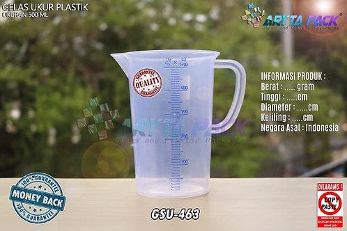 Gelas ukur plastik 500ml