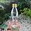 Thumbnail: Botol kaca bening 250ml RC second tutup emas kaleng
