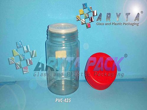 Toples plastik PVC 100ml selera pendek