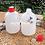 Thumbnail: Botol plastik HDPE 1 liter gold G tutup merah