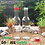 Thumbnail: BOTOL KACA BENING 350ML ANGGUR MINUMAN TUTUP PLASTIK