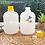 Thumbnail: Botol plastik HDPE 1 liter gold G tutup kuning