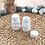 Thumbnail: Botol plastik PET 30 kapsul tablet bulat putih susu