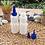 Thumbnail: Botol plastik HDPE 100ml lena tutup tinta biru