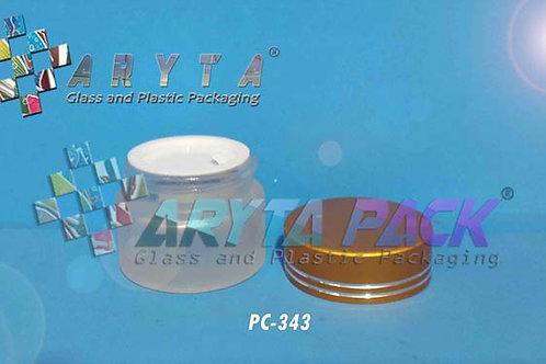 Pot cream 10 gram kaca tutup emas