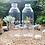 Thumbnail: Botol plastik minuman 1liter jus kale 45gr tutup segel warna - warni