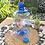 Thumbnail: Galon plastik PET 5 liter biru + keran tutup dop biru