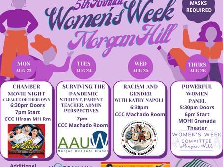 5th Annual Women's Week Celebration