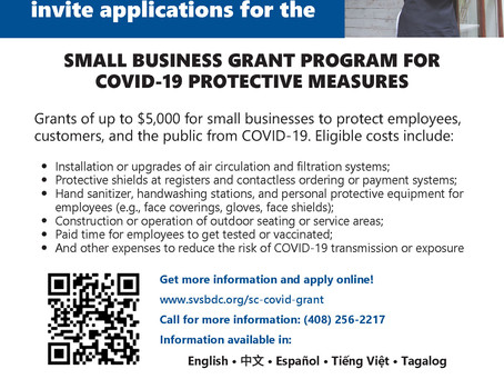 NEW Small Business Grants