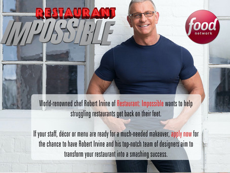 RESTAURANT IMPOSSIBLE - Casting Call in Morgan Hill!