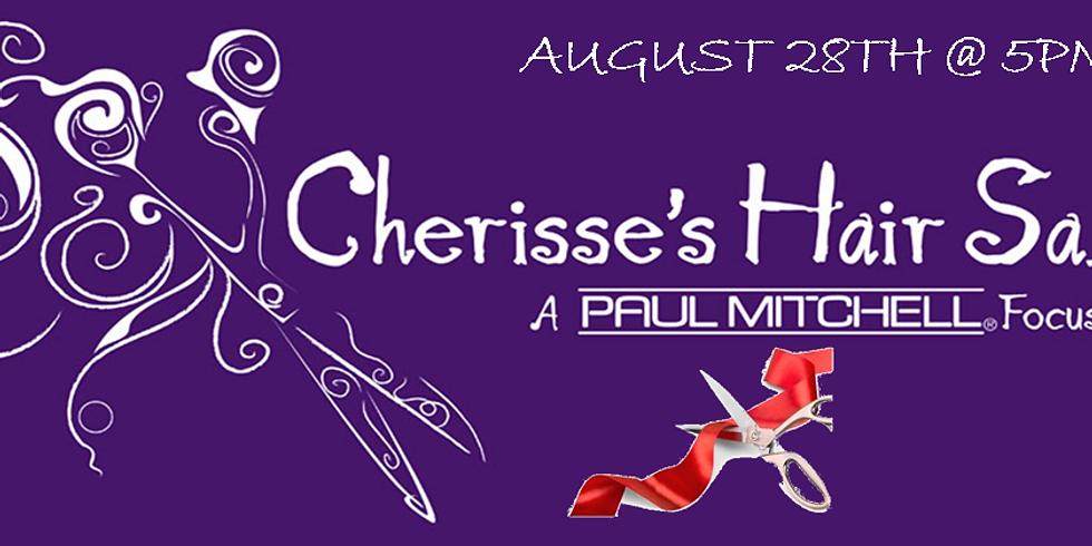 Cherisse's Hair Salon 20th Anniversary & New Location Ribbon Cutting