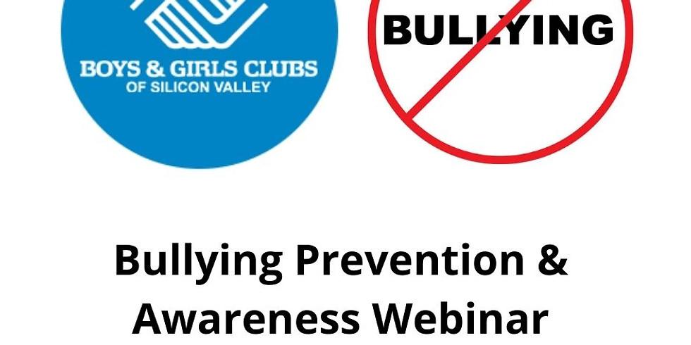 Bullying Awareness and Prevention Webinar