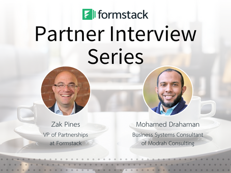 Formstack Partner Interview with Zak Pines