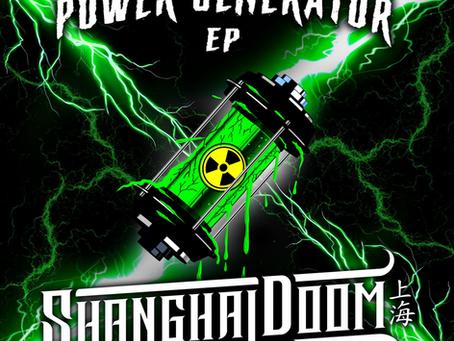 Shanghai Doom brings the power with 'Power Generator' EP on Cyclops Recordings