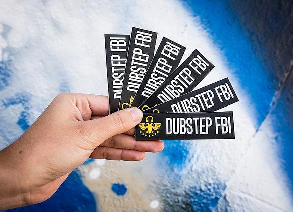 Dubstep FBI Sticker Pack