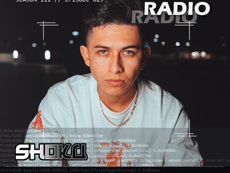 Shoku drops a neck-breaking Riot Control Radio mix
