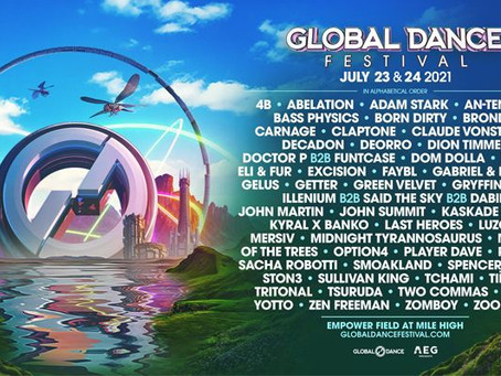 Global Dance Festival will light up the Mile High City July 23-24