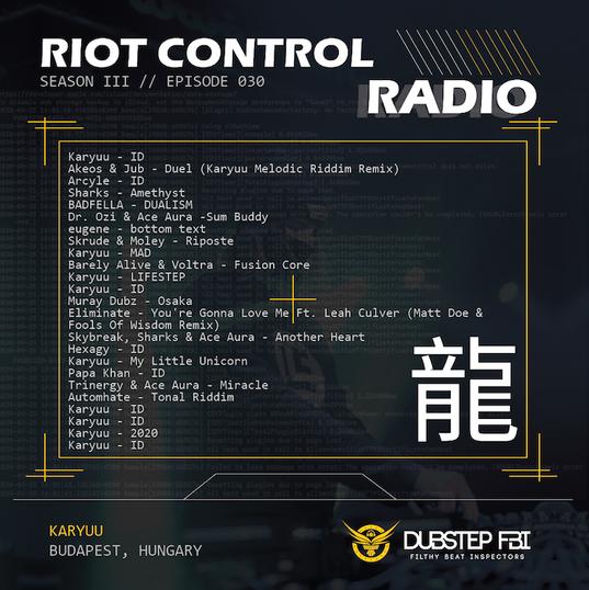 RiotControlRadioTracklist-030-Karyuu-01.