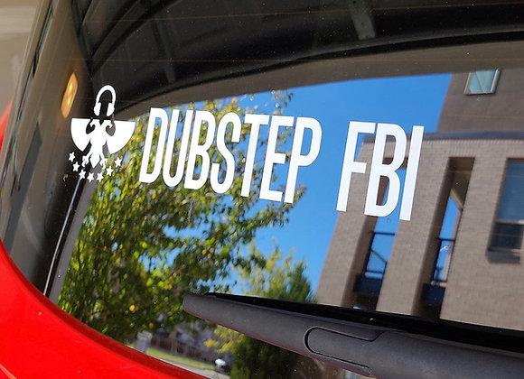 Dubstep FBI Car Decal