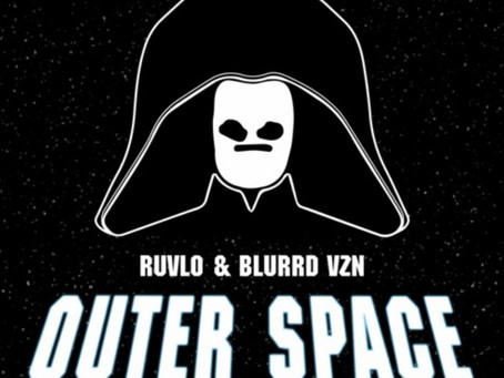 Blurrd Vzn and Ruvlo transport to outer space with new track on Spicy Bois