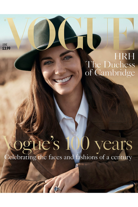 Kate Middleton is British Vogue's 100-year cover girl