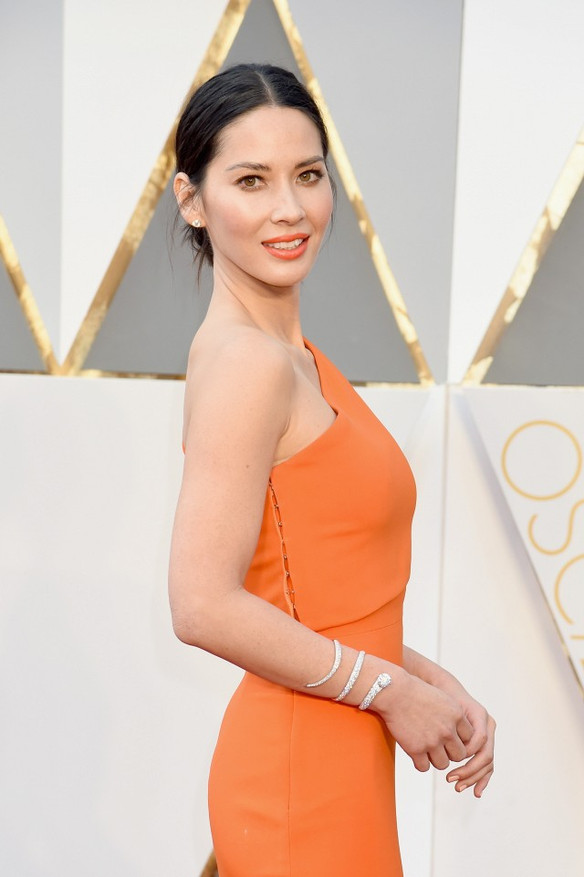 Guess which trick wore the most expensive Oscars dress