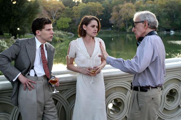 Women don't speak in trailer for Woody Allen's Café Society