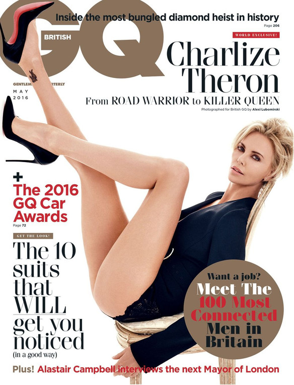 Charlize Theron says it's harder for pretty people to get cast. M'kay.
