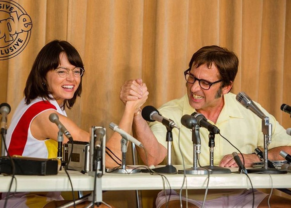 Lesbi-honest trailer: Emma Stone as Billie Jean King in Battle of the Sexes