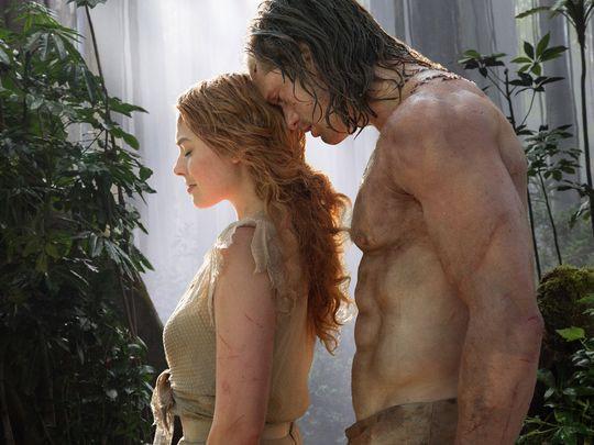 Let's count Alexader Skarsgård's abs in The Legend of Tarzan teaser