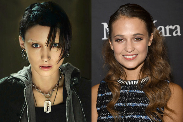 Alicia Vikander might star in The Girl in the Spider's Web