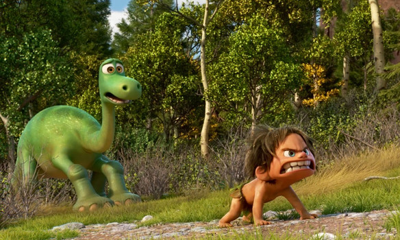 The Good Dinosaur is kind of like The Lion King and The Jungle Book