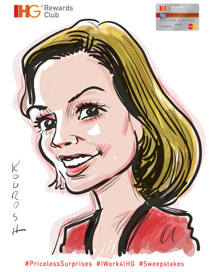 InterContinental-Hotel-Group-Caricature-11-Lucy