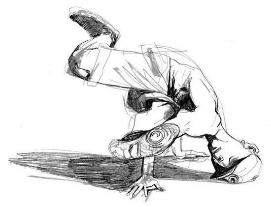 Mohamad_Sketch_Breakdancer