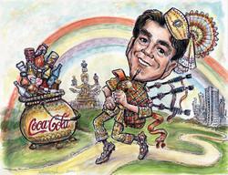 Coca Cola Retirement Gift