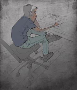 Mohamad_Sketch_Man_at_Computer