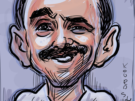 Caricature of the day - Gary Vaynerchuk