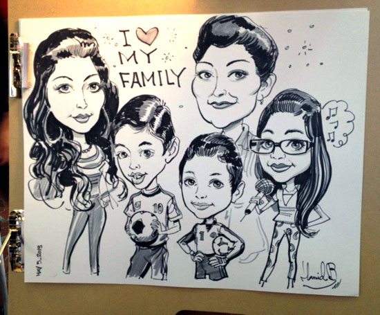 Hamid_Family_Caricature